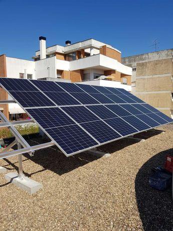 Painéis Solares Fotovoltaicos e Térmicos, Postos Veículos Elétricos
