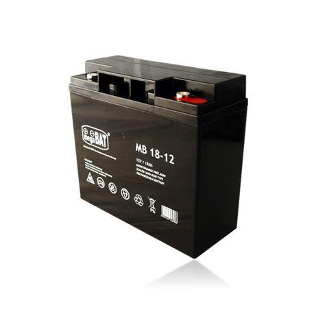 Bateria 12V 12Ah 18AH MB 18-12 AGM VRLA Megabat Ultracell Alarme UPS