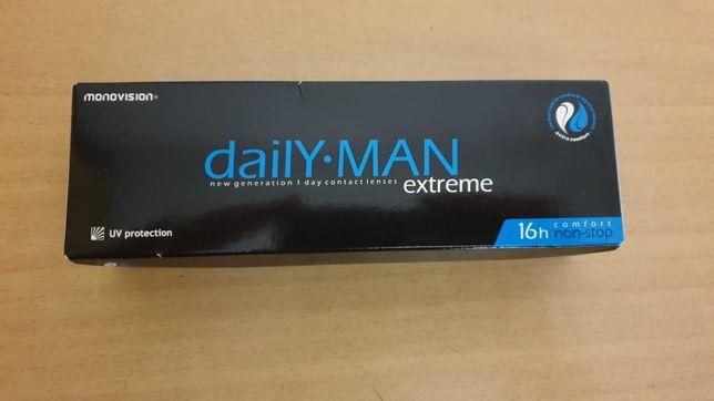 Nowe soczewki kontaktowe Daily Man Extreme -0.5