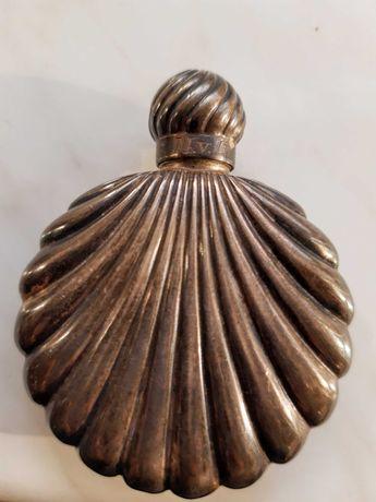 Piersiówka srebrna prawdziwy unikat