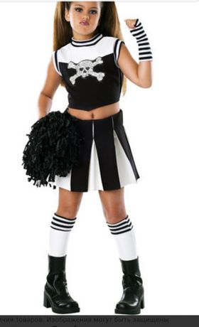 Карнавальный костюм George черлидерша, черлидер, зомби на хеллоуин