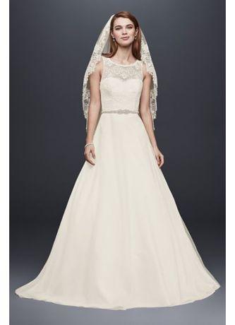 David's Bridal prosta suknia ślubna roz. 40/42