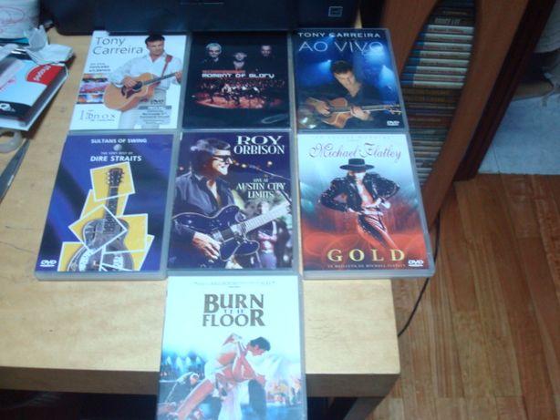 lote 14 dvds musicais e dança ver lista