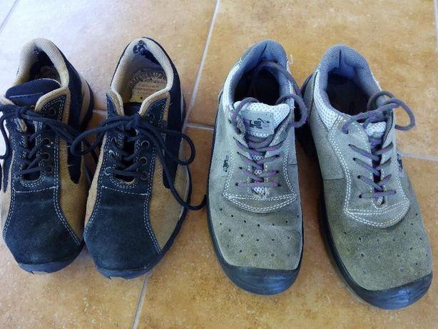 Sapatos se trabalho biqueira de aço-tamanho 38