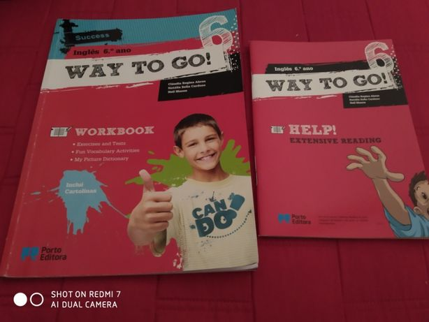INGLÊS -Way to Go 6 (workbook)