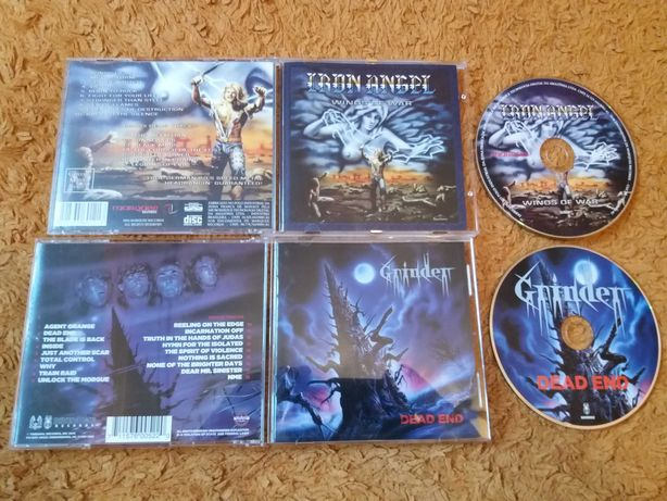 Компакт диски IRON ANGEL,GRINDER.Thrash.