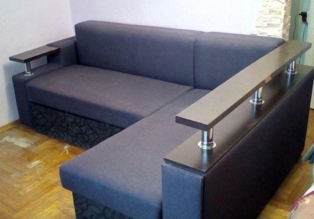 Продам  угловой диван раскладной фиолетовый