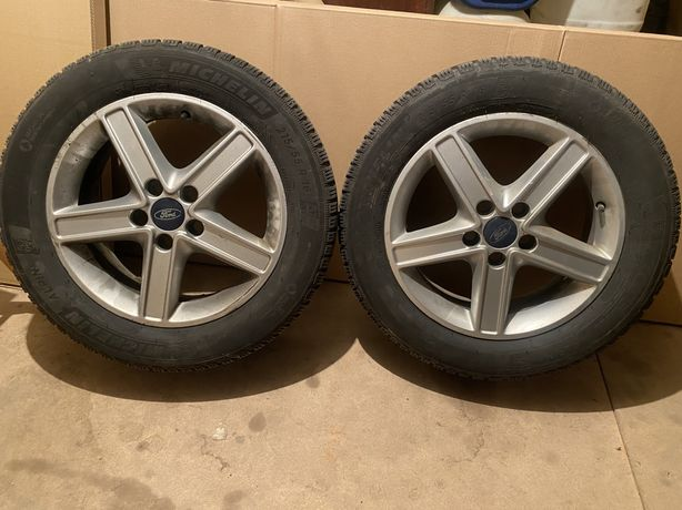 215/55/16 5x108 Michelin Alpin 6 Ford Volvo kola komplet Super stan!!!