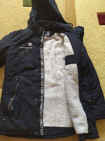Куртка зимова зріст 164 см