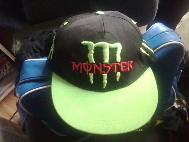 czapka monster