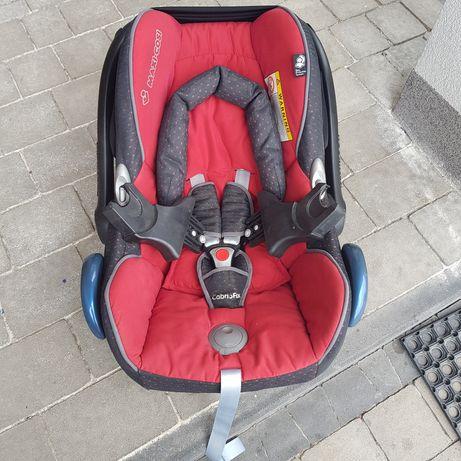 Fotelik Maxi Cosi CabrioFix 0-13kg + adaptery do wózka