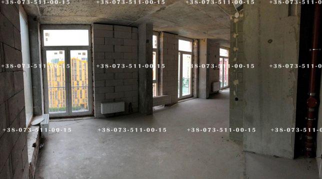 Эксклюзивная 3-уровневая квартира с двумя террасами в ЖК Комфорт Таун