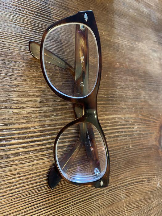 Rayban klasyczne rogowe oprawki okulary korekcyjne używane bdb stan Warszawa - image 1