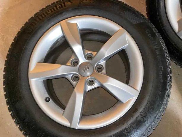 Колеса, зимняя резина Continental 225/60 R16 101T XL Диски Audi зима