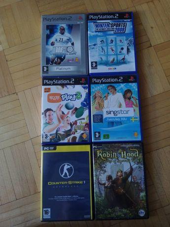 Gry PlayStation 2,3 i PC DVD.