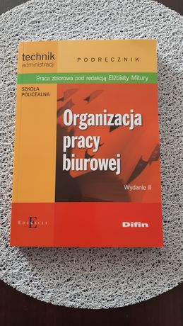 Książka organizacja pracy biurowej