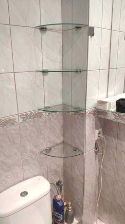 Półki szklane do łazienki