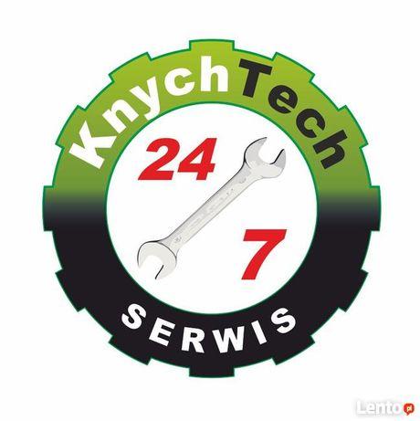 Serwis przeglądy naprawy prasokontenerów pras hydraulicznych belownic