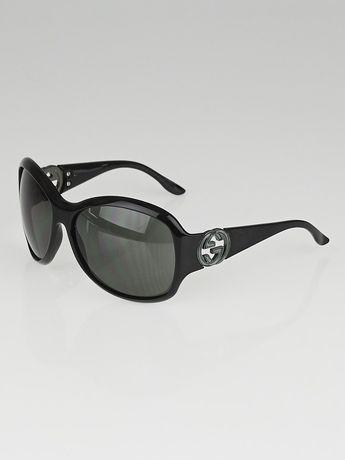 Óculos de Sol Gucci Black Optyl Frame GG Sunglasses-3139/S Originais