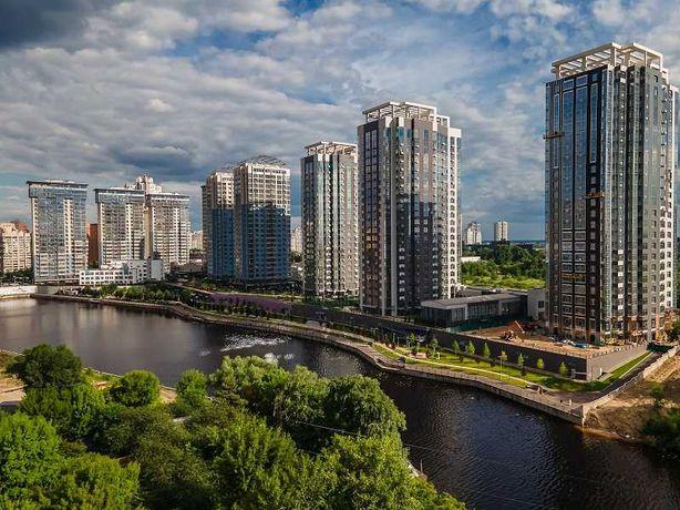 ЖК RiverStone, 3-кім. квартира 107 м2, Осокорки. Здача будинку 2021 р.