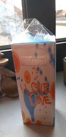Promka moschino i love love 30 ml za 78 zl w rossmanie za 139