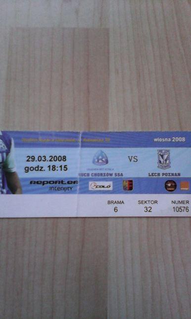 Ruch Chorzów -Lech Poznań 29.03.2008
