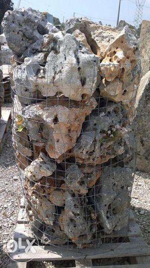 pias e pedras antigas