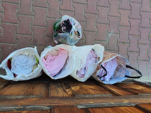 Ubrania dla dziewczynki rozmiar 62 68 74 buciki zestaw paka ubrań