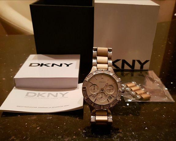 Zegarek DKNY 100% oryginal z cyrkoniami!
