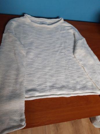 Sweter kremowy Cropp S
