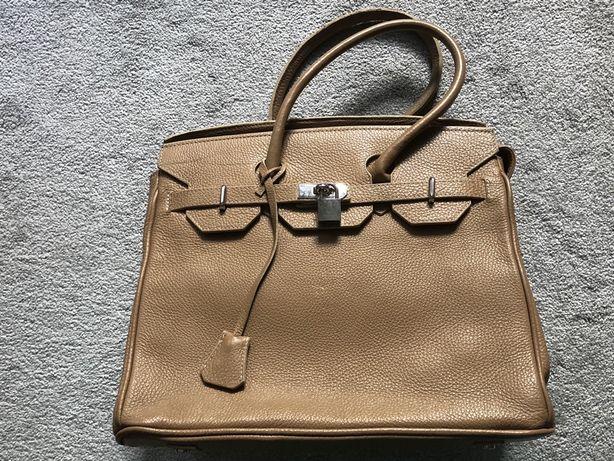 Nowa włoska skórzana torebka do ręki