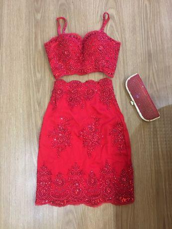 Платье Вечернее от Irina Marchuk! Топ и юбка! S-XS