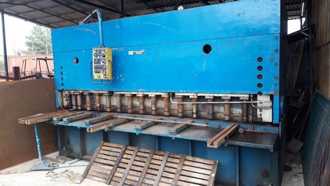 Gilotyna/prasa hydrauliczna do blachy, 3200 mm x 18 mm
