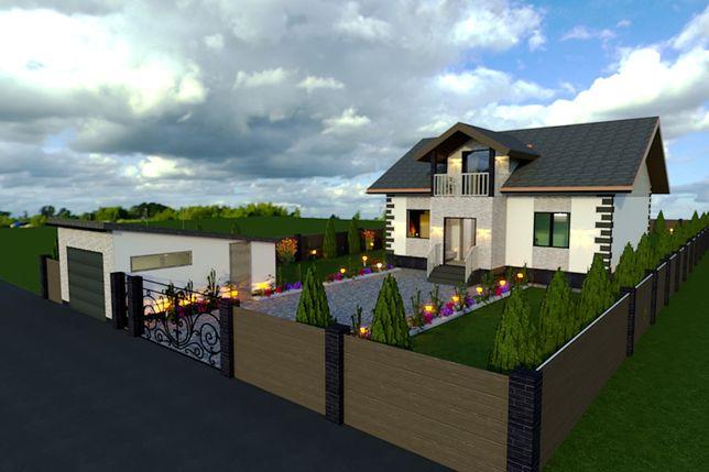 Архітектор, проектування будинків, проект дома,ескізні наміри забудови