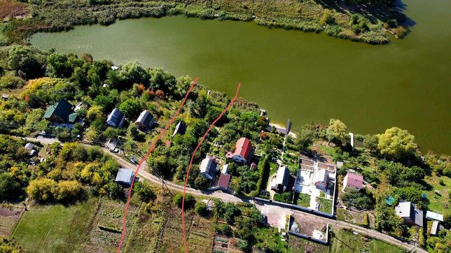 Дачу Срочно на Озере(Участок находится на первая линия на пруду)