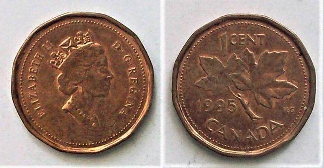 Kanada 1 cent rok 1995