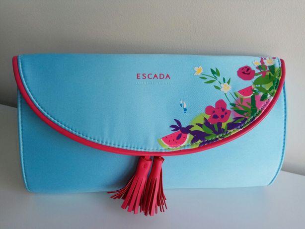 Pochete / necessarie azul claro -  ESCADA