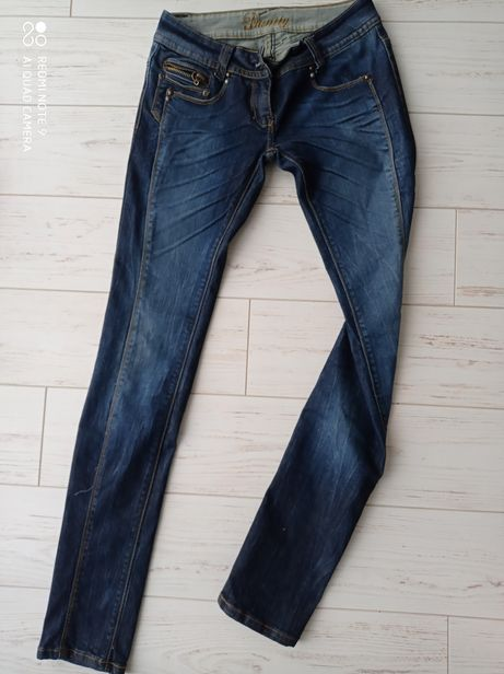 Jeansy spodnie Danuty S