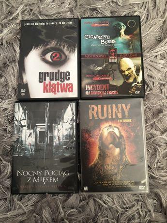 Filmy DVD horrory Klątwa Halloween , Nocny pociąg z mięsem , ruiny