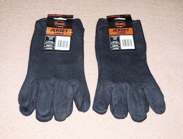 Перчатки зимние теплые рабочие лот 2-пары
