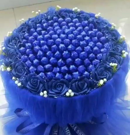 Walentynki bukiet kwiaty sztuczne prezent