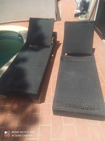 Espreguiçadeira de terraço/piscina