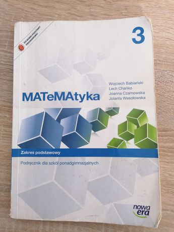 Matematyka 3 liceum/technikum