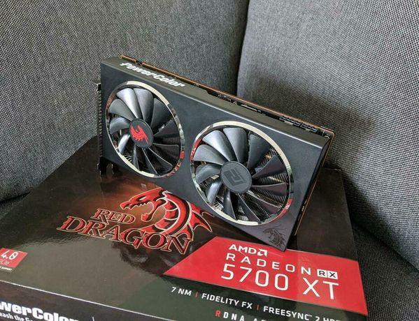 AMD Radeon RX 5700xt 8 GB GDDR6 Powercolor Red Dragon