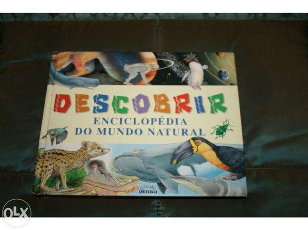 """Livro """" Descobrir Enciclopédia Mundo Natural"""""""