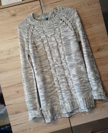 Moodoo sweter melanzowy S