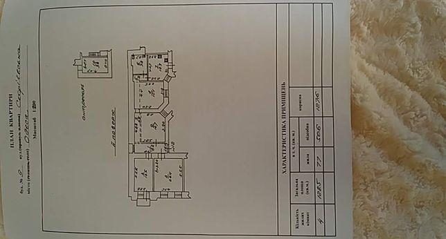 Продам 4-х комнатная квартира на Софиевской (уг.Конная)
