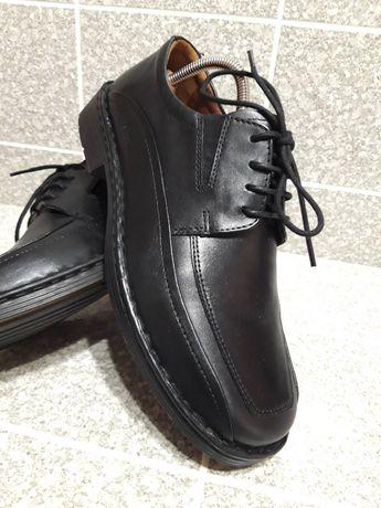 Мужские кожаные туфли комфорт Josef Seibel 42р