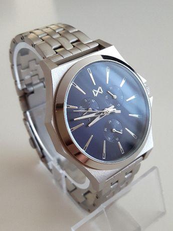 Mark Maddox Marina HM7102-37 - piękny męski zegarek na bransolecie