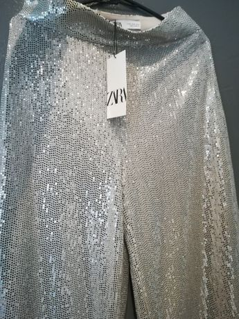 Spodnie Nowe Zara Rozm. M